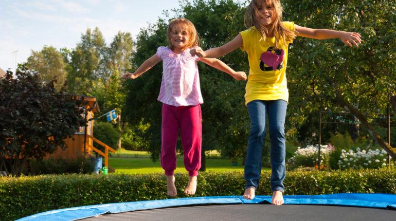 sikker trampolin