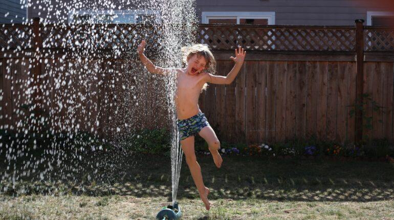 Børn vand