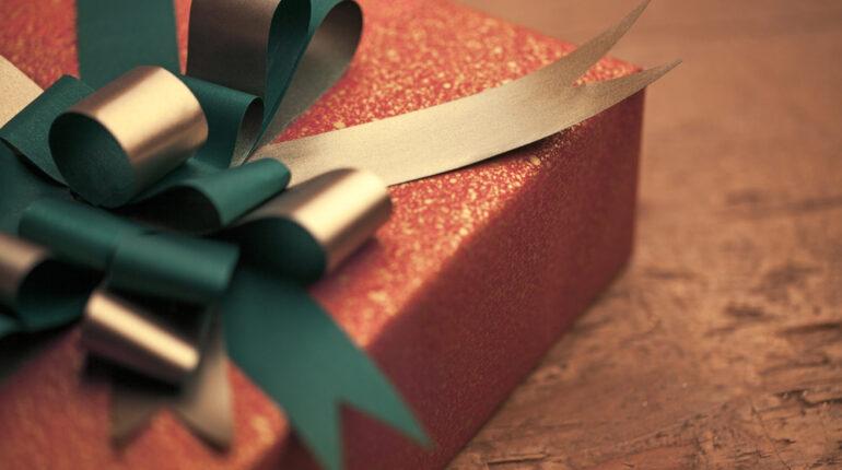 rød gave